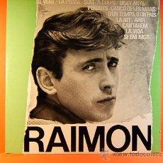Discos de vinilo: DISC ANTOLOGIC DE LES SEVES CANÇONS - RAIMON -AL VENT,LA PEDRA,SOM,A COLPS.....EDIGSA- 1964 - LP .... Lote 38951260