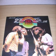 Discos de vinilo: LP - BEE GEES - HERE AT LAST...LIVE - EDITION SPANISH - DOUBLE LP. Lote 38953773