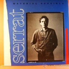 Discos de vinilo: MATERIAL SENSIBLE - JOAN MANUEL SERRAT -RICARD MIRALLES ANA BELEN ARIOLA EURODISC BMG- 1989 - LP .... Lote 38956033