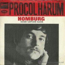 Discos de vinilo: PROCOL HARUM SINGLE DEL SELLO EMI-ODEON. Lote 38959788