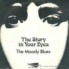 Discos de vinilo: THE MOODY BLUES SINGLE DEL SELLO THRESHOLD. Lote 38959980