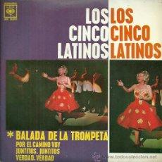 Discos de vinilo: LOS CINCO LATINOS EP EDITADO POR EL SELLO CBS.... Lote 38966485