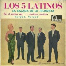 Discos de vinilo: LOS CINCO LATINOS EP EDITADO POR EL SELLO FONTANA.... Lote 38966493