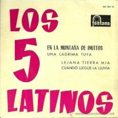 Discos de vinilo: LOS CINCO LATINOS EP EDITADO POR EL SELLO FONTANA.... Lote 38966502