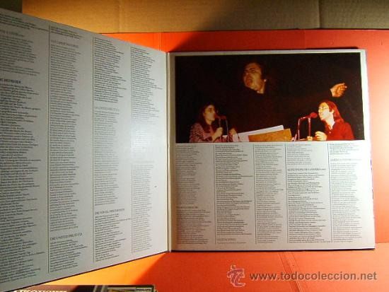 Discos de vinilo: CANTO GENERAL PABLO NERUDA - MIKIS THEODORAKIS MARIA FARANTOURI - RCA - GERMANY - 1975 - DOBLE LP... - Foto 2 - 38970352