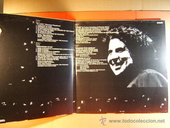 Discos de vinilo: MIKIS THEODORACKIS MARIA FARANTOURI ANTONIS KALOYANNIS MARIA DIMITRIADOU -FRANCIA- 1971 -DOBLE LP... - Foto 2 - 38970600