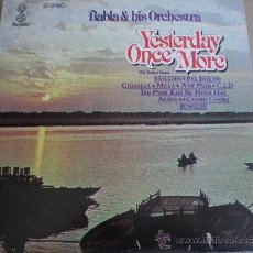 Discos de vinilo: BABLA & HIS ORCHESTRA - YESTERDAY ONCE MORE - LP UK SAVERA 1979 // BOLLYWOOD. Lote 38971526