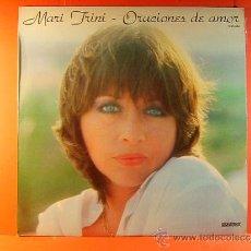 Disques de vinyle: ORACIONES DE AMOR - MARI TRINI - HISPAVOX DIROGRAF - DIRIGIDA POR DANILO VAONA - 1981 - LP ... . Lote 38971653