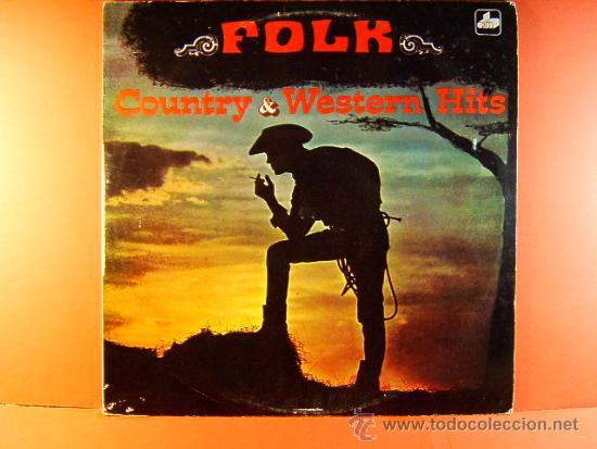 COUNTRY & Y WESTERN HITS FAVOURITES - THE NASHVILLE RAMBLERS - FOLK - CBS USA DIM - 1971 - LP ... (Música - Discos - LP Vinilo - Country y Folk)