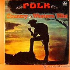Discos de vinilo: COUNTRY & Y WESTERN HITS FAVOURITES - THE NASHVILLE RAMBLERS - FOLK - CBS USA DIM - 1971 - LP .... Lote 38972784