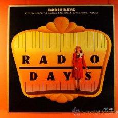 Discos de vinilo: RADIO DAYS - WOODY ALLEN - MIA FARROW - JEFF DANIELS - RCA BMG ARIOLA NOVUS VICTOR - 1987 - LP ... . Lote 38974157