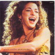 Discos de vinilo: GLORIA ESTEFAN SINGLE EDITADO POR EL SELLO CBS . Lote 38974186