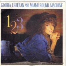 Discos de vinilo: GLORIA ESTEFAN SINGLE EDITADO POR EL SELLO EPIC. Lote 38974275