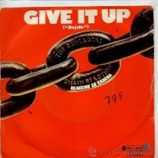 Dischi in vinile: THE CRUSADERS / GIVE IT UP / MELLOW OUT (SINGLE 1976). Lote 38975484