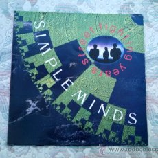 Discos de vinilo: VINILO SIMPLE MINDS: STREET FIGHTING YEARS. Lote 38976050