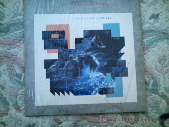 VINILO THOMAS DOLBY: THE FLAT EARTH (Música - Discos - LP Vinilo - Pop - Rock - New Wave Extranjero de los 80)