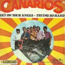 Discos de vinilo: LOS CANARIOS SINGLE SELLO SONOPLAY AÑO 1968 EDITADO EN ESPAÑA. Lote 38984206