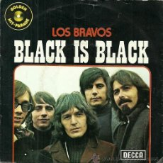 Discos de vinilo: LOS BRAVOS SINGLE SELLO DECCA EDITADO EN BELGICA. Lote 38984269