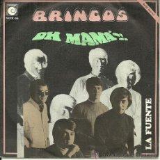 Discos de vinilo: LOS BRINCOS SINGLE SELLO NOVOLA EDITADO EN ESPAÑA AÑO 1969. Lote 38984372