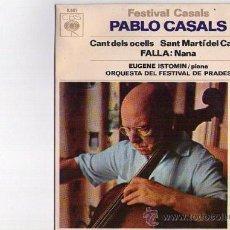 Discos de vinilo: PABLO CASALS**CANT DELS OCELLS**SANT MARTI DEL CANIGÓ**1967. Lote 38986190