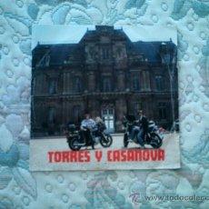 Discos de vinilo: VINILO TORRES Y CASANOVA (ARREGLOS DE JOSE MARIA ALONSO)(SINGLE). Lote 38990554