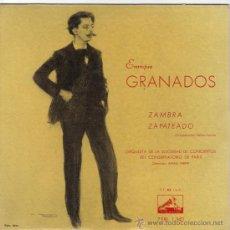 Discos de vinilo: ENRIQUE GRANADOS EP SELLO LA VOZ DE SU AMO AÑO 1958 EDITADO EN ESPAÑA. Lote 38990983