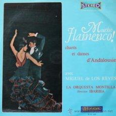Discos de vinilo: MIGUEL DE LOS REYES 'MUCHO FLAMENCO!' LP MUSIDISC FRANCIA. Lote 38991291