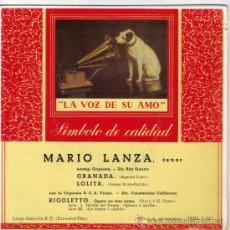 Discos de vinilo: MARIO LANZA EP SELLO RCA VICTOR EDITADO EN ESPAÑA AÑO 1968. Lote 38991458