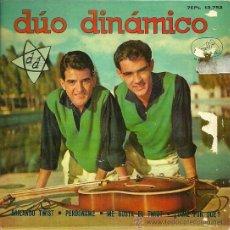 Discos de vinilo: DUO DINAMICO EP SELLO LA VOZ DE SU AMO AÑO 1962 EDITADO EN ESPAÑA. Lote 38993722