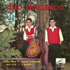Discos de vinilo: DUO DINAMICO EP SELLO LA VOZ DE SU AMO AÑO 1963 EDITADO EN ESPAÑA. Lote 38993840