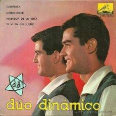 Discos de vinilo: DUO DINAMICO EP SELLO LA VOZ DE SU AMO AÑO 1963 EDITADO EN ESPAÑA. Lote 38993858