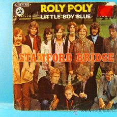 Discos de vinilo: ROLY POLY - LITTLE BOY BLUE - STAMFORD BRIDGE - PENNY FARTHING RECORDS ODEON - 1970 - SINGLE ... . Lote 38997388