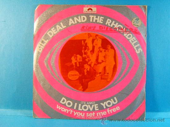 DO I LOVE YOU - WON'T YOU SET ME FREE - BILL DEAL AND THE RHONDELLS - POLYDOR - 1970 - SINGLE ... (Música - Discos - Singles Vinilo - Pop - Rock - Extranjero de los 70)
