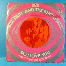 Discos de vinilo: DO I LOVE YOU - WON'T YOU SET ME FREE - BILL DEAL AND THE RHONDELLS - POLYDOR - 1970 - SINGLE ... . Lote 38997436
