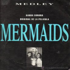 Discos de vinilo: B. S. O. FILM MERMAIDS- CHER, SG, THE SHOOP SHOP SON, AÑO 1991. Lote 39002903