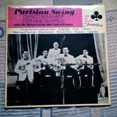 Discos de vinilo: VINILO PARISIAN SWING: DJANGO REINHARDT, STEPHANE GRAPPELLI & THE QUINTET OF THE HOT CLUB OF FRANCE. Lote 39005686