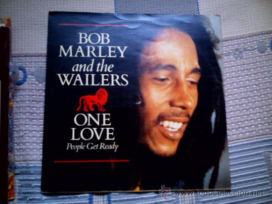 VINILO BOB MARLEY AND THE WAILERS ONE LOVE PEOPLE GET READY MAXI SINGLE 45 RPM