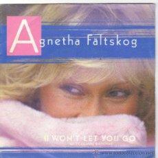 Discos de vinilo: AGNETHA FALTSKOG DE ABBA SINGLE SELLO POLYDOR AÑO 1985 EDITADO EN ESPAÑA. Lote 39006901