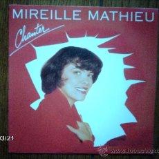 Discos de vinilo: MIREILLE MATHIEU - CHANTER + BLUE PARADISE . Lote 39033329