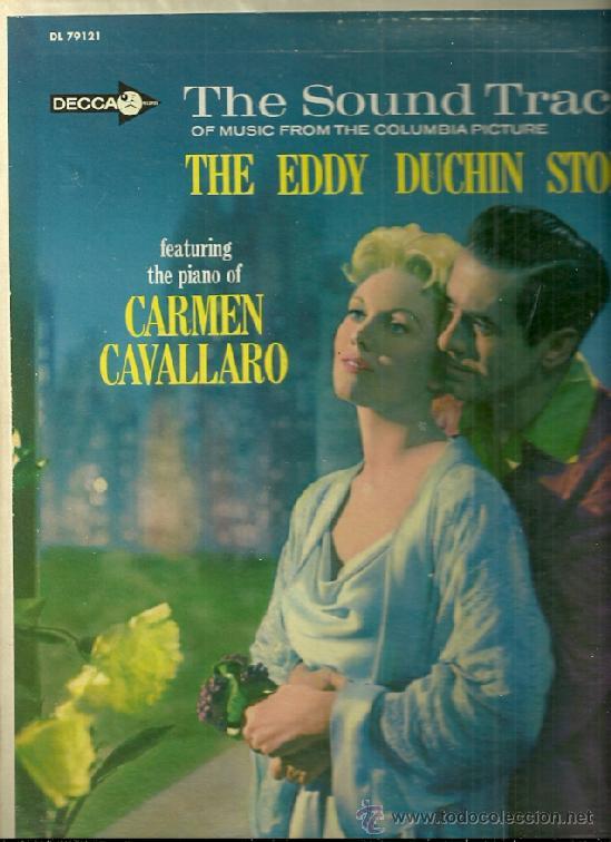 BANDA SONORA DEL FIML THE EDDDY DUCHIN STORY LP SELLO DECCA EDITADO EN USA. (Música - Discos - LP Vinilo - Bandas Sonoras y Música de Actores )