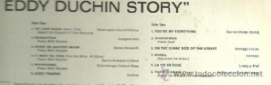Discos de vinilo: BANDA SONORA DEL FIML THE EDDDY DUCHIN STORY LP SELLO DECCA EDITADO EN USA. - Foto 2 - 39011127