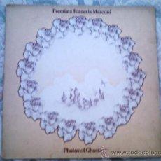 Discos de vinilo: VINILO PREMIATA FORNERIA MARCONI: PHOTOS OF GHOSTS. Lote 39016712