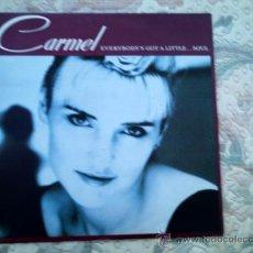 Discos de vinilo: VINILO CARMEL: EVERYBODY´S GOT A LITTLE...SOUL. Lote 39017033