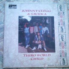 Discos de vinilo: VINILO JOHNNY CLEGG & SAVUKA: THIRD WORLD CHILD. Lote 39017292