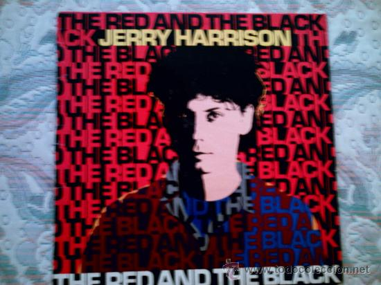 VINILO JERRY HARRISON: THE RED AND THE BLACK (Música - Discos - LP Vinilo - Pop - Rock - New Wave Extranjero de los 80)