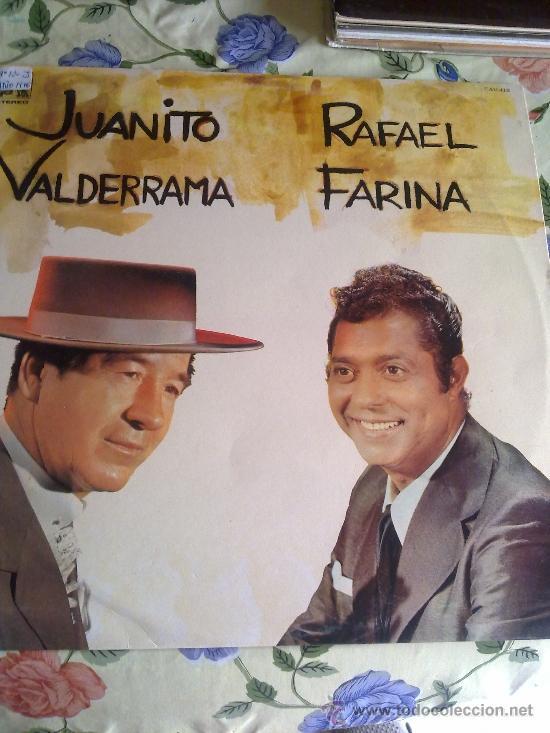 JUANITO VALDERRAMA RAFAEL DE FARINA C1V (Música - Discos - LP Vinilo - Otros estilos)