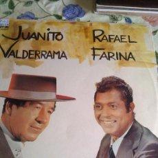 Discos de vinilo: JUANITO VALDERRAMA RAFAEL DE FARINA C1V. Lote 39018391