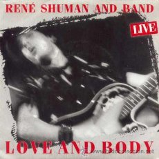 Discos de vinilo: RENE SHUMAN AND BAND ··· LOVE AND BOY - (SINGLE 45 RPM) ··· NUEVO. Lote 39023173