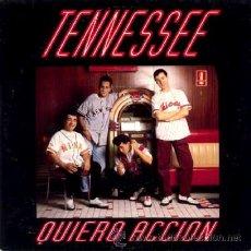 Discos de vinilo: TENNESSEE ··· QUIERO ACCION - (SINGLE 45 RPM). Lote 39023328