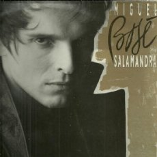 Discos de vinilo: MIGUEL BOSE LP SELLO WEA EDITADO EN ESPAÑA AÑO 1986 FUNDA INTERIOR CON LETRAS DE LAS CANCIONES. Lote 39028981